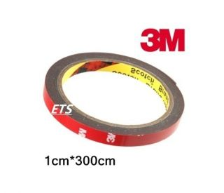 Auto Acrylic Foam Double Sided Attachment Tape 10mm x 3M Get It