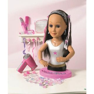 Dream Dazzlers Ooh La La Stylin Head Doll Brunette