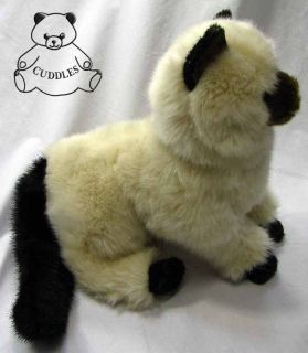 Tasha Himalayan Cat Douglas Cuddle Plush Toy Stuffed Animal Realistic