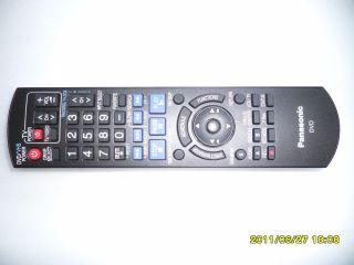 Panasonic N2QAYB000197 DVD DVDR VCR Remote Control