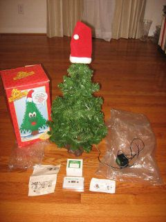 Douglas Fir The Talking Christmas Tree Animated Sing Gemmy 1996