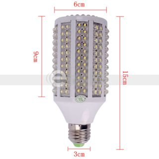 E27 110V 13W 1000LM 263LED Corn Shaped Lamp Light Bulb