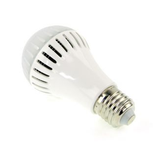 E27 7W LED Lamp Bulb Warm Light Energy Saving Bright Input AC 85V 260V