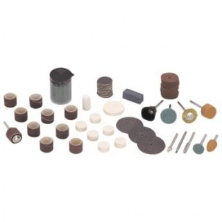 Rotary Tool Accessory Kit 105 Piece Polishing Abrasive