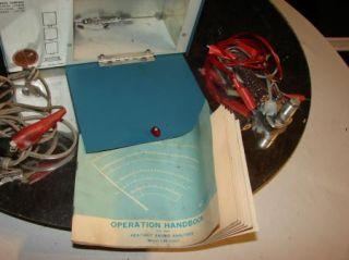 Vintage Heathkit Tach Dwell Volt Meter Engine Analyzer cm 1050 Works