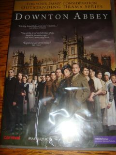 SEALED DOWNTON ABBEY COMPLETE SEASON 2 EMMY DVD PBS PAGE EIGHT SERIES