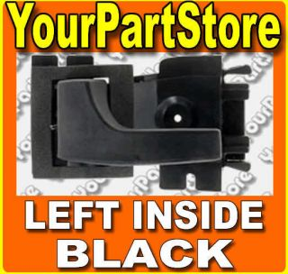 FORD INSIDE Inner INTERIOR DOOR HANDLE Black Drivers Driver Side LEFT