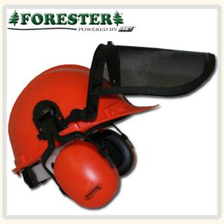 Helmet Safety System Includes Helment Face Shield Ear Muffs