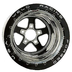 Weld Racing 78B516A4DB Sportsman Drag Series Black Wheel