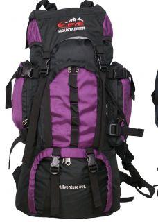 Outdoor Sport Travel Rucksack Backpack Camping Hiking Walking Climbing