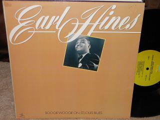 Earl Hines Boogie Woogie on St Louis Blues LP Prestige