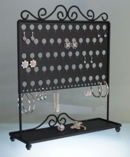 Earring Holder Jewelry Organizer Tree Storage Rack Display Stand Click