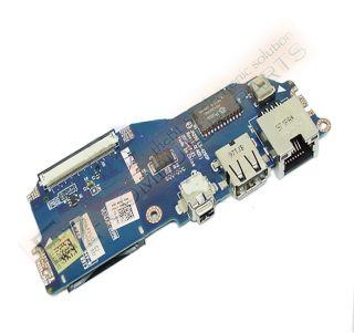 dell latitude e4200 right side io usb firewire circuit board