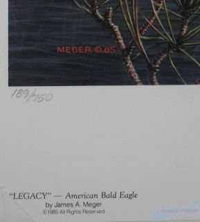 James A Meger Legacy American Bald Eagle s 189 750