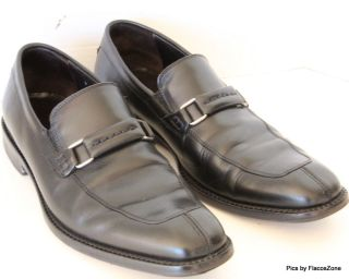 Donald J Pliner Loafers Slip on Black Mens Italy Shoes 9 M