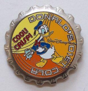 Donalds Diet Cola Pin Pinback Walt Disney World