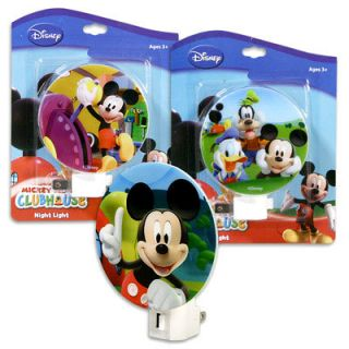 Disney Mickey Mouse Donalds Goofy Plug in Night Light