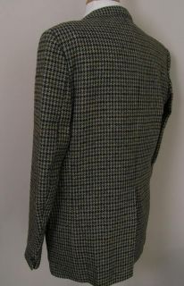 Donegal Magee Vintage Tweed Blazer Olive Brown 42L