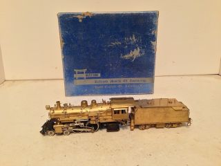 HO Scale Brass Steam Locomotive 4 4 2 ATSF Balboa KTM
