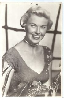 Doris Day Vintage Postcard C 1950