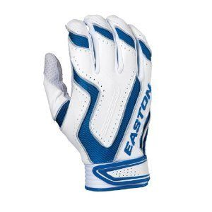 Easton Omen Royal Blue XL Adult Mens Batting Gloves Baseball Softball