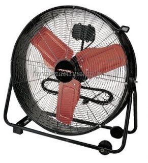 Portable Industrial Warehouse Drum Fan Air Circulator 24 New
