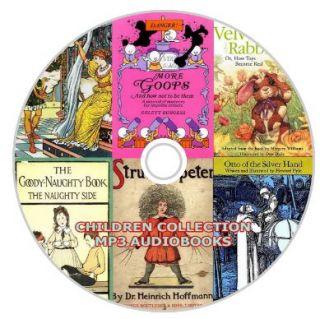 CHILDREN KIDS 80  AUDIO BOOKS 3 DVD SET~ 400 HOURS OF AUDIO & FREE