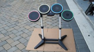 Harmonix Rockband Rock Band Drum Set for Wii with Stand Model NWDMS2
