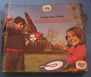 Whirly Bird Catch on Target Game 1971