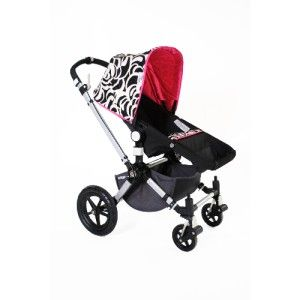 Cutiepie Stroller Covers Black White Pink Cow $99 99