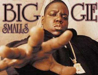 Biggie Smalls East Coast Hip Hop Rap Rip Icon Legend Glossy Photo T