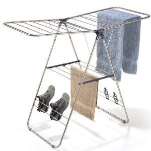 Folding Laundry Drying Rack Clothes Clothing Indoor New