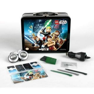 New Star Wars Lego Nintendo DS Accessory Set Lunch Box Style Tin