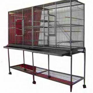 Large Double Bird Cage Cockatiel Ferret SUGARGLIDER0437
