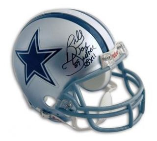 Billy Joe Dupree Autographed Dallas Cowboys Mini Helmet