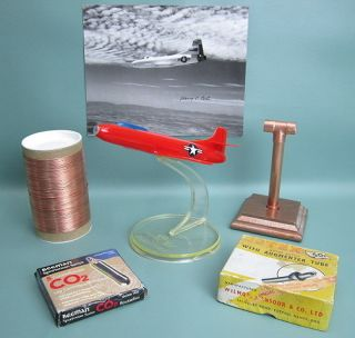 Collectibles Douglas Skystreak D5581 Allyn Sales Co Model Fly By Wire