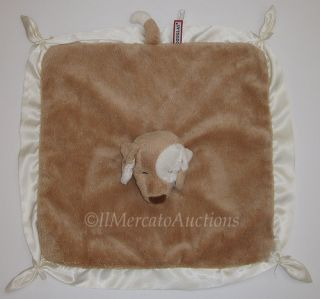 Douglas Plush Tan Lil Snuggler Puppy Dog Baby Security Blanket Lovey
