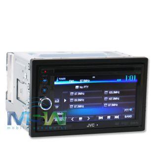 JVC KW AV60 In Dash 6 1 DVD CAR STEREO RECEIVER w iPOD CONTROL PANDORA
