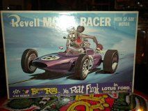 1964 REVELL, ED ROTH,RAT FINK in Lotus FORD/Slot Car 1/24 Model Racer