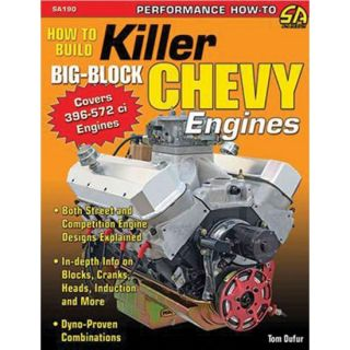 Killer BBC Big Block Chevy Engines Book by Tom Dufur Paperback
