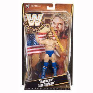 MATTEL WWE LEGENDS SERIES 3 HACKSAW JIM DUGGAN