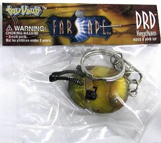New Official Farscape DRD Keychain Collectible Action Figure Toy Prop