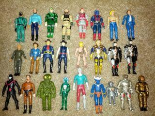 Action Figure Toy Lot Aliens Monsters Dukes of Hazzard Lone Ranger