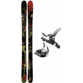 Salomon Dumont 171 Skis +  Px Racing 15 Fs Wide Ski Bindings