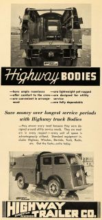 Highway Trailer Truck Bodies Motor Vehicles Utility Edgerton Wisconsin