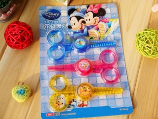 Mickey Mouse Craft Safety Scissors Paper Edgers 3pcs 36