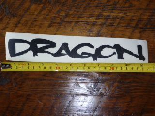 Dragon Eyewear Sticker Decal New Sunglasses Goggles Die Cut