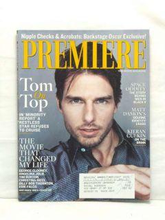 Premiere Magazine Tom Cruise Angelina Jolie Edie Falco