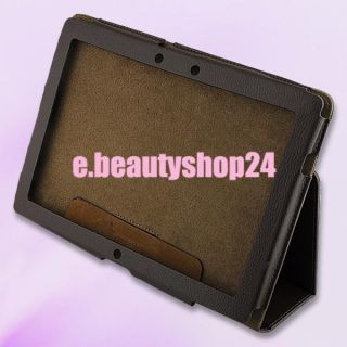 Leather Case Cover for Asus Eee Pad Transformer Prime TF201 TF700