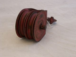 Vintage Durbin Durco Inc Cast Iron Pulley Block Tackle